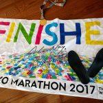 東京マラソン完走報告
