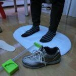 足に合ったサイズの靴を利用ください