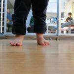 3歳:安定感ある歩きが出来ます(動画)